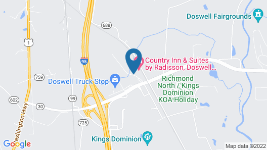 Country Inn & Suites by Radisson, Doswell (Kings Dominion), VA Map