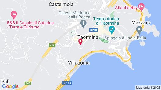 Domenico Palace, Taormina, a Four Seasons Hotel Map