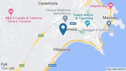 San Domenico Palace, Taormina, A Four Seasons Hotel Map