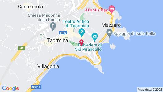 Hotel Villa Belvedere Map