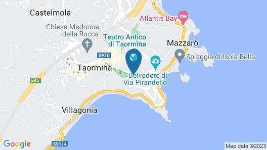 Taormina Park Hotel Map