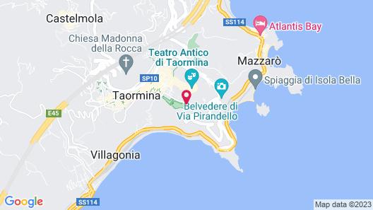 Villa Diodoro Hotel Map
