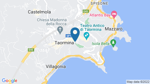 Hotel Villa Paradiso Map