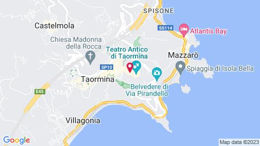 Grand Hotel Timeo, A Belmond Hotel, Taormina Map
