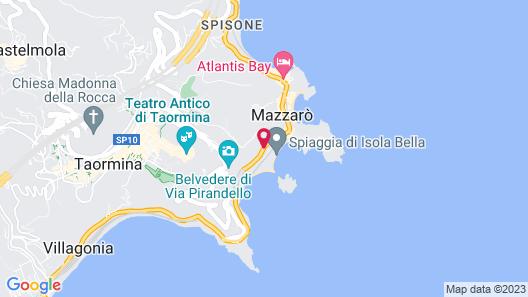 La Plage Resort Map