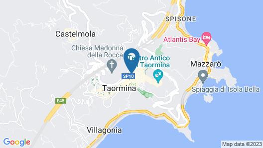 NH Collection Taormina Map
