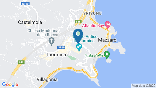 Hotel Villa Fiorita Map