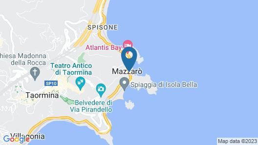 Villa Sant'Andrea, A Belmond Hotel, Taormina Mare Map