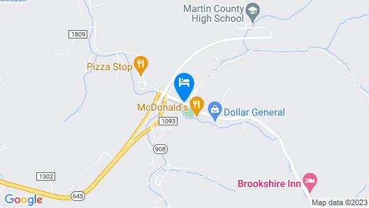 Brookshire Inn Map