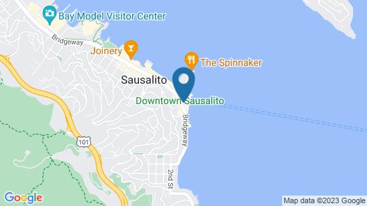 Hotel Sausalito Map