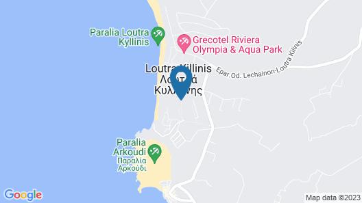 Grecotel Olympia Oasis & Aqua Park Map
