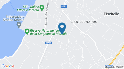 Kitesurf lo Stagnone Map