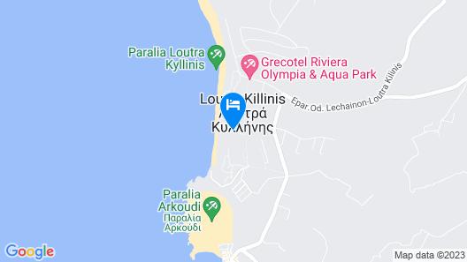 Mandola Rosa Grecotel Boutique Resort Map