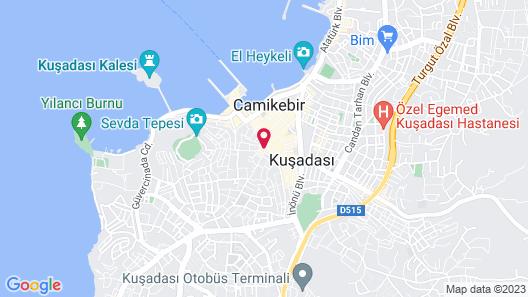 Akdeniz Apart Hotel Map