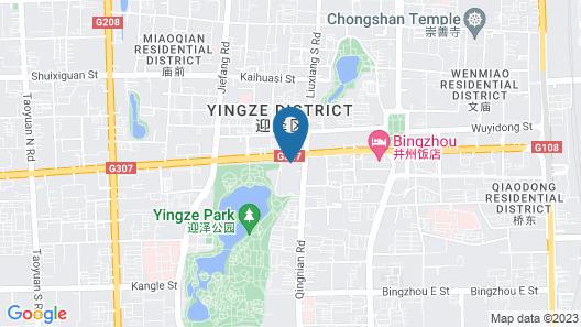 Bingzhou Hotel - Taiyuan Map
