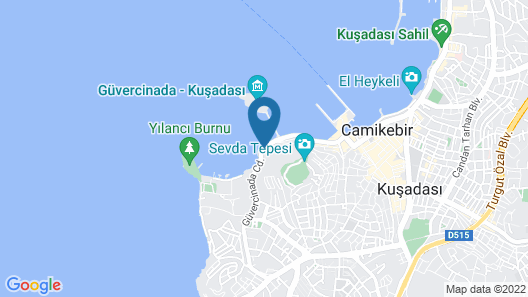 LaVista Boutique Hotel & Spa - Boutique Class Map