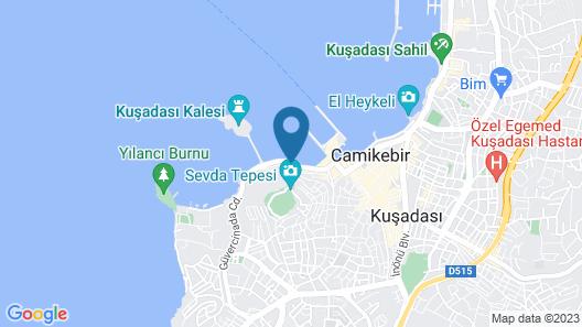 Efe Boutique Hotel Map