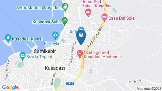 Kusadasi Rezidans Map