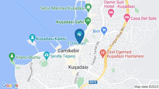 Ilayda Avantgarde Hotel Map