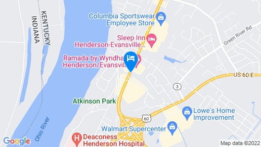 Economy Inn and Suites Map