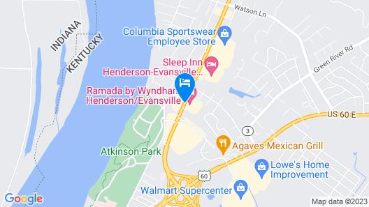 Ramada by Wyndham Henderson/Evansville Map