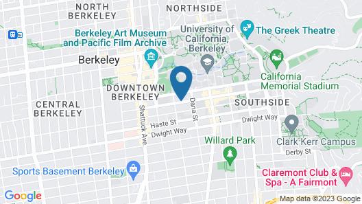 Berkeley City Club Map