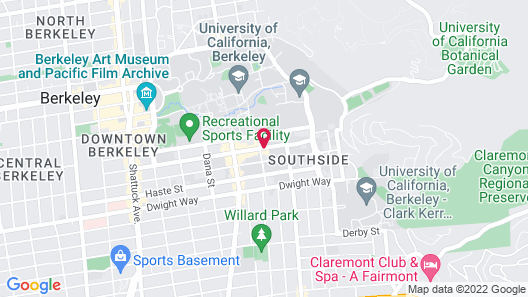 Graduate Berkeley Map