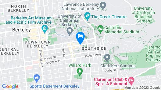 Graduate Berkeley Map