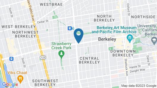 Howard Johnson by Wyndham Berkeley Map