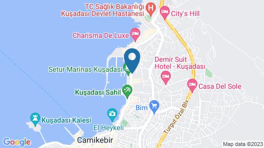Doubletree By Hilton Kusadasi - Special Class Map