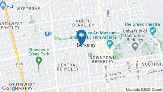 Travelodge by Wyndham Berkeley Map