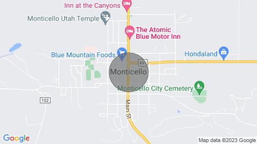 Indian Canyon Ranch Map