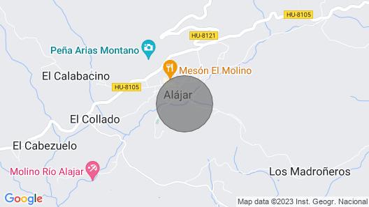 Casa Antonio for 6 People Map