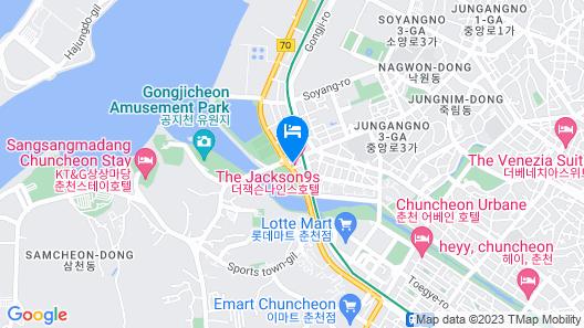 Hotel Jackson9s Map