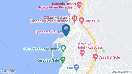 Charisma De Luxe Hotel Map