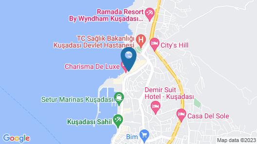 Korumar Deluxe Hotel Map