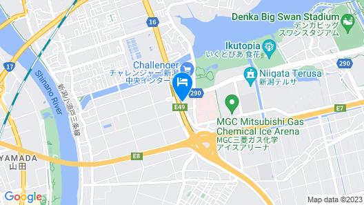 Chisun Inn Niigata Chuo Inter Map