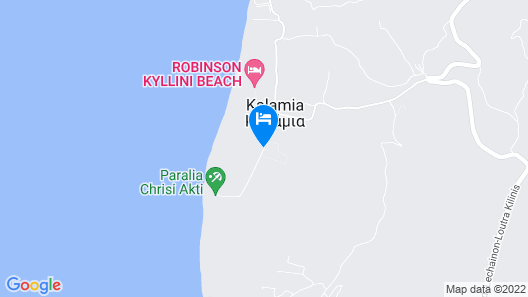Olympia Golden Beach & Spa Map
