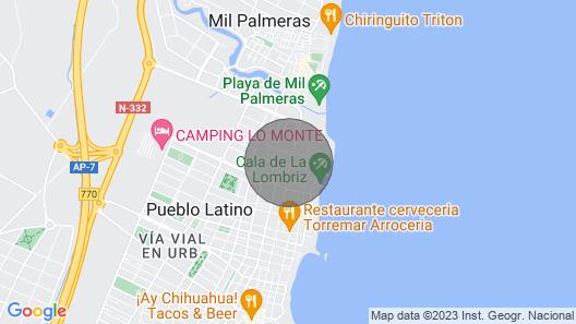Luxury 2 bedroom apartment, Playa Elisa Bay (MP009) Map