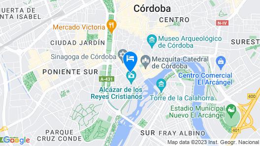 Las Casas de la Juderia Hotel Map