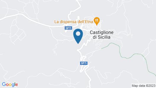 Cosy Holiday Home in Castiglione di Sicilia With Balcony Map