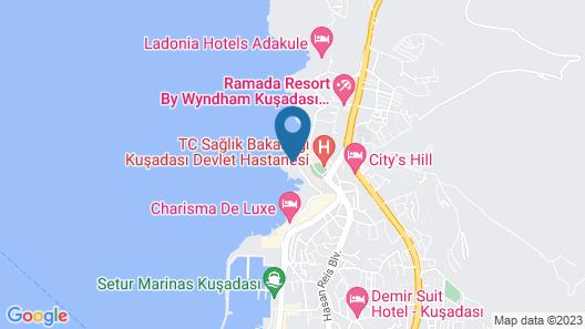 Ramada Resort by Wyndham Kusadasi - All Inclusive Map