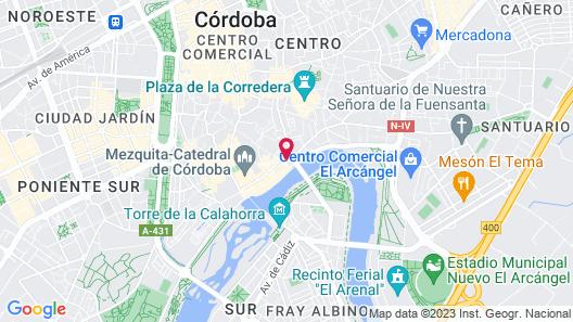 Apartamentos Córdoba Atrium Map