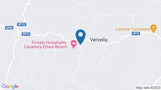 Cavanera Etnea Resort & Wine Experience Map