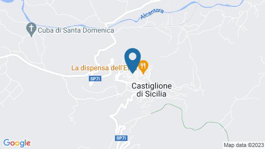 Albergo Diffuso Borgo Santa Caterina Map