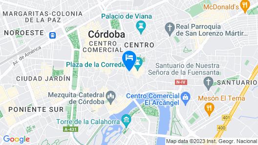 Apartasuites Alberca Map