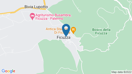 Al Bosco Ficuzza B&B Map