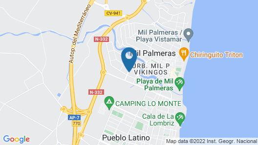 Explore Costa Blanca From a Family-friendly Holiday Home Map
