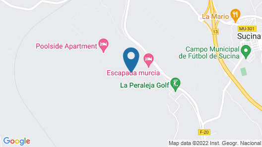 2 Bedroom Accommodation in Sucina Map