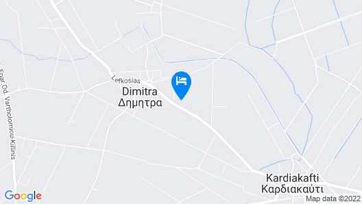 Country Cottage in Kyllini, Peloponnese Map